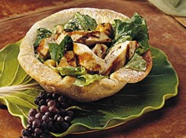 Chicken Caesar Salad Bread Bowl Recipe