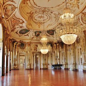 The Ballroom @ Queluz National Palace, Portugal by João Branquinho - Buildings & Architecture Public & Historical ( palácio, queluz, rei, rococo, ballroom, palace, portugal, king )