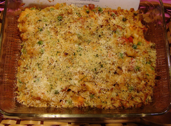 Baked Macaroni, Vegetables & Cheese Recipe