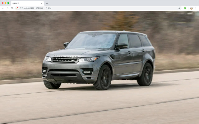 Land Rover Car HD New Tabs Popular Themes