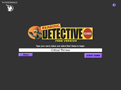 critical thinking reading detective