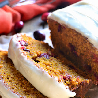 Cranberry Pumpkin Bread.
