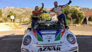 Los ganadores Aznar y Urea. FAA