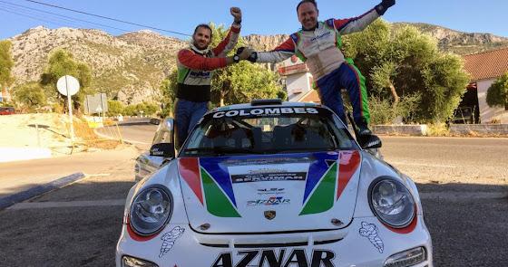 José Antonio Aznar e Iván Urea, ganan el Rally Sierra de Cádiz