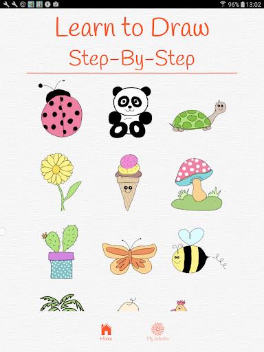 玩免費娛樂APP|下載How to draw step-by-step app不用錢|硬是要APP