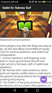 Game Guide for Subway Surf APK for Windows Phone