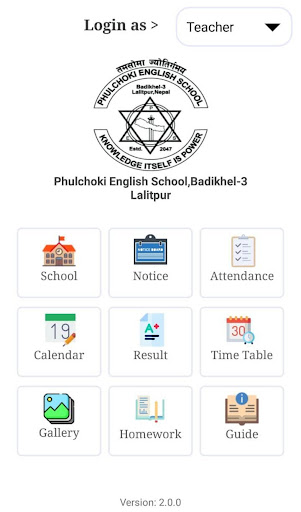 Phulchoki English School,Badikhel-3 Lalitpur screenshot 3