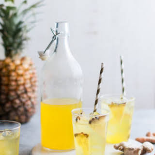 Pineapple Ginger Iced Tea.