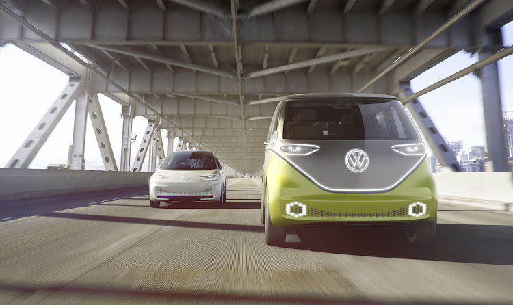 The ID Buzz, followed by the ID – future all-electric models that will wear the Volkswagen badge