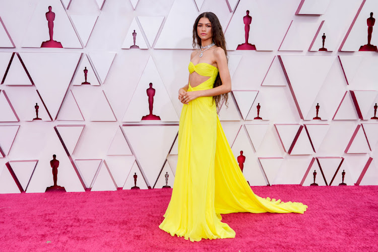 Zendaya showed why she's a fashion fave in this vibrant Valentino gown.
