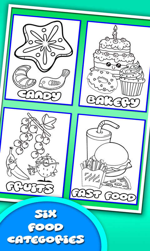 Coloring Book for Food kitchen  Android Apps on Google Play