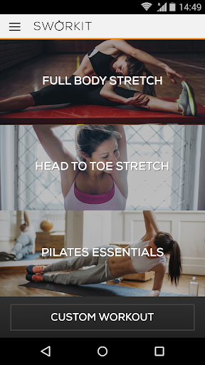 Stretching Pilates Sworkit