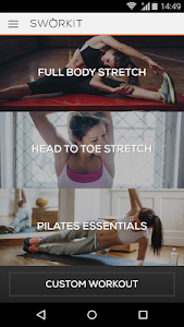 Stretching & Pilates Sworkit v1.2.5 Ad Free