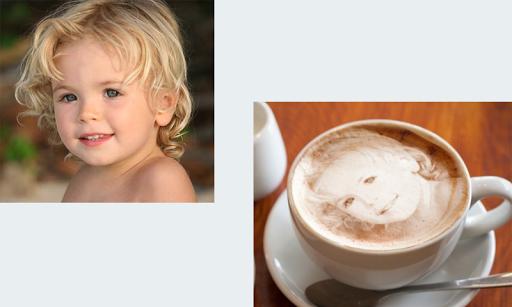 Face in Coffee Photo Editor