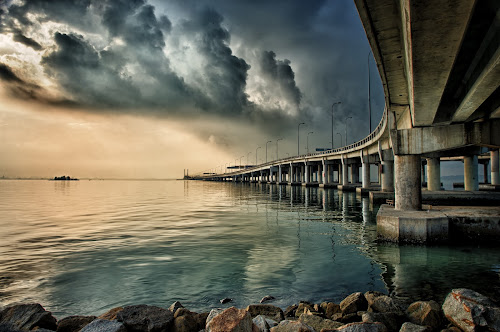 Penang Bridge-Malaysia by Hairi Mansur - Buildings & Architecture Bridges & Suspended Structures ( pwcbridges )