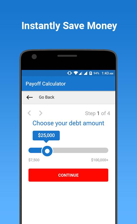 Credit Card Debt Payoff Calculator  Android Apps On Google Play