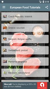 European Food Tutorials - náhled