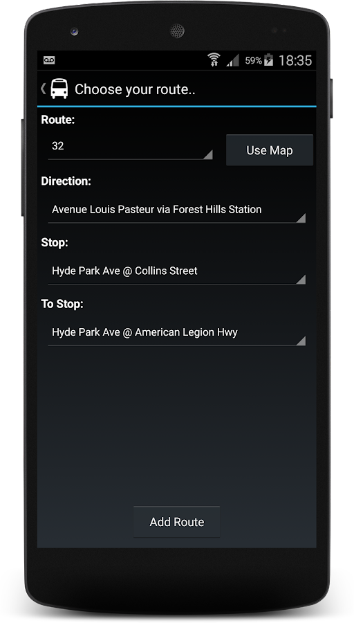 San Francisco Muni Alerts maps - screenshot