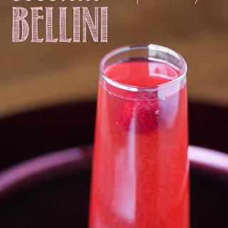 Coconut Raspberry Bellini