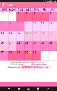 App Woman's DIARY period・diet・cal APK for Windows Phone