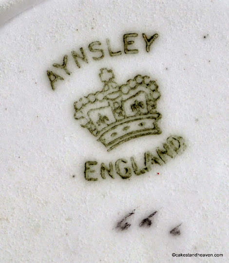 Aynsley back stamp 1905-25