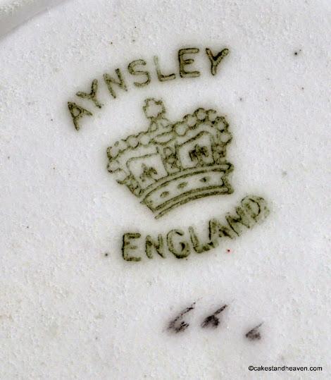 Aynsley back stamp 1905-25
