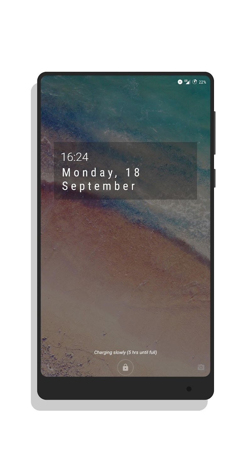 MNML Digital Clock Mods [Substratum] Screenshot 14
