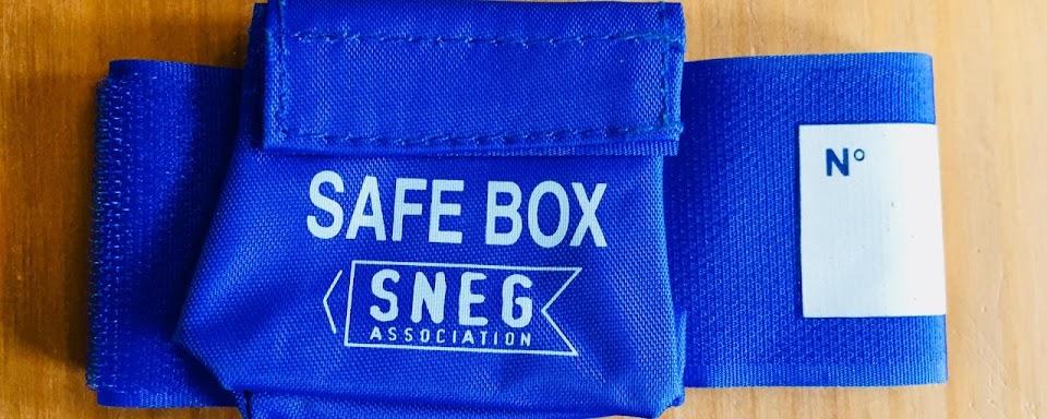 safe box bracelet velcro sauna textile