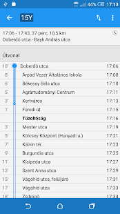 Debreceni Menetrend - náhled