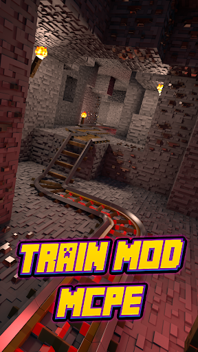 Train Mod For MCPE.