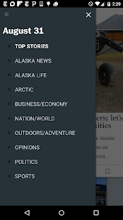 Alaska Dispatch News- screenshot thumbnail