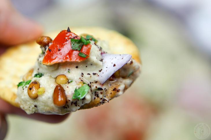 Lebanese Baba Ghanouj Eggplant Dip Recipe | Yummly