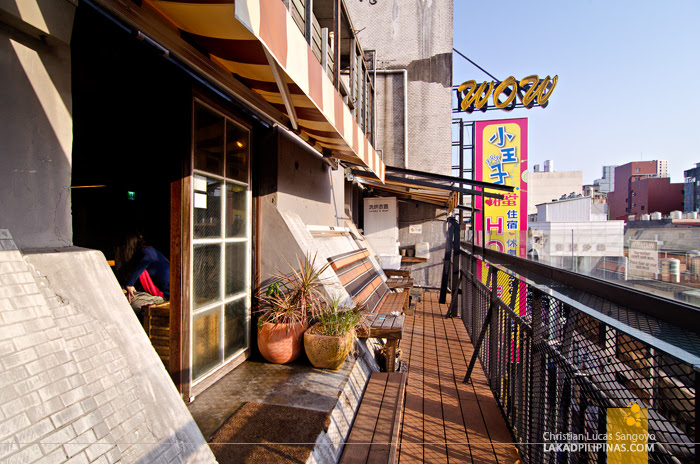 Ximen Wow Hostel Balcony