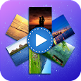 Pics To Video Music Slideshow icon