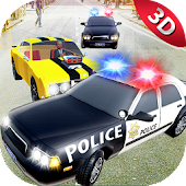 City Police Car Chase Smash 3D