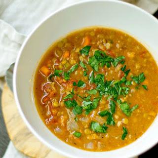 Bacon Lentil Soup