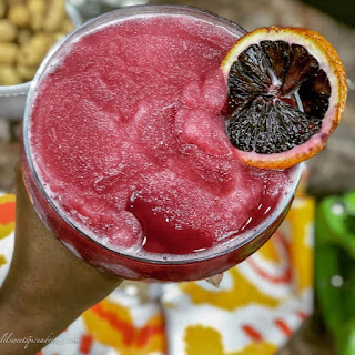 Frozen Vanilla Blood Orange Daiquiri.