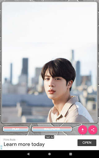 Jin BTS Game Puzzle android2mod screenshots 12