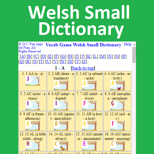 Vocab Game Welsh Small Dictionary (game)