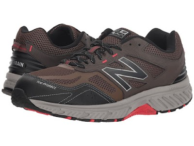 Incaltaminte Barbati New Balance 510v4 ChocolateBlackTeam Red