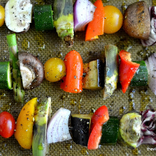 Spring Vegetable Skewers