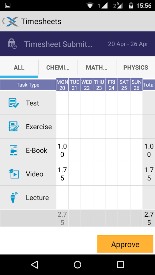 Vidyamandir Classes Parent App- screenshot