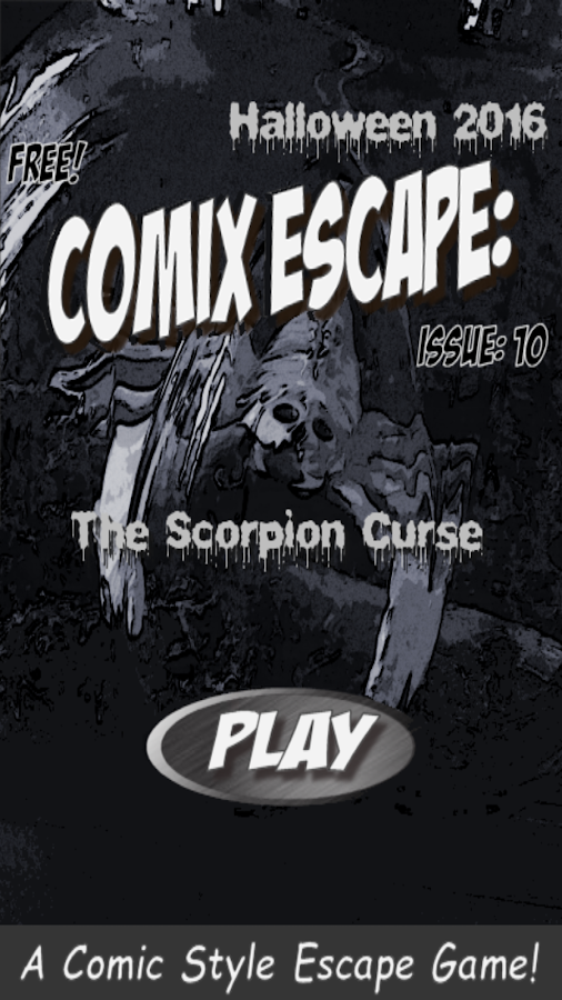 Comix Escape: Halloween- screenshot