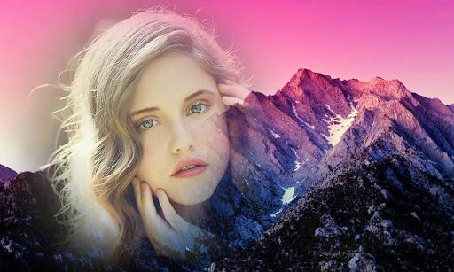 Mountain Photo Frame