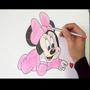 jak kreslit miky myš a přítele - náhled