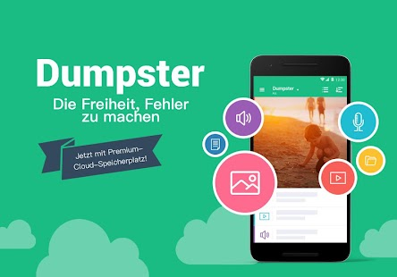 Dumpster: Rette gelöschte Bilder, Videos & Dateien Screenshot