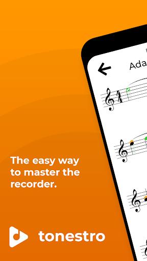 tonestro for Recorder - practice rhythm & pitch screenshots 1