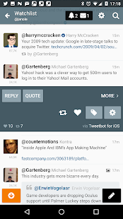 Gravity For Twitter & RSS- screenshot thumbnail