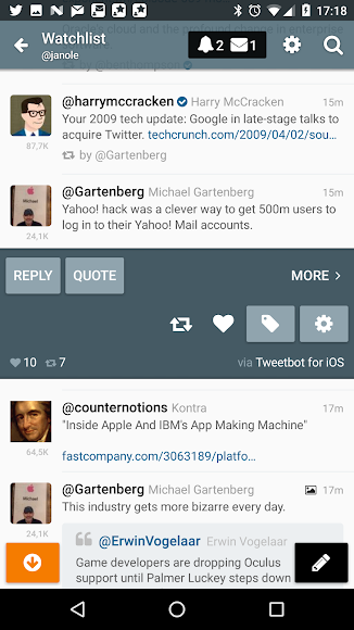 Gravity For Twitter & RSS 1.0.55