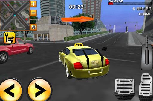 タクシーデューティモダン3Dドライビング
